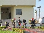 Aspiranti istruttori - pratica incendi al chiuso